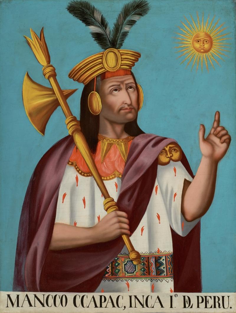 Mancco Ccapac I, Inca del Peru