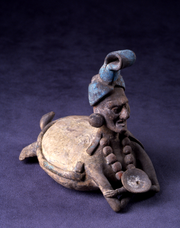 Jaina-Style Figure of God N as the Turtle Earth