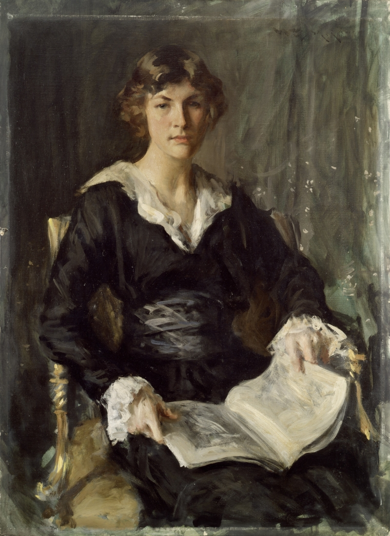 Portrait of Miss S. (Gertrude Savageau Freeman)