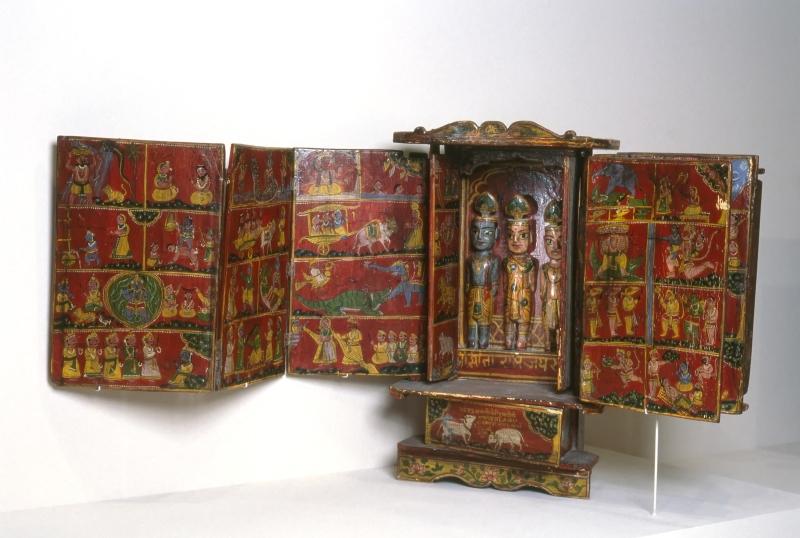 Storyteller's Box Illustrating the Life of Krishna