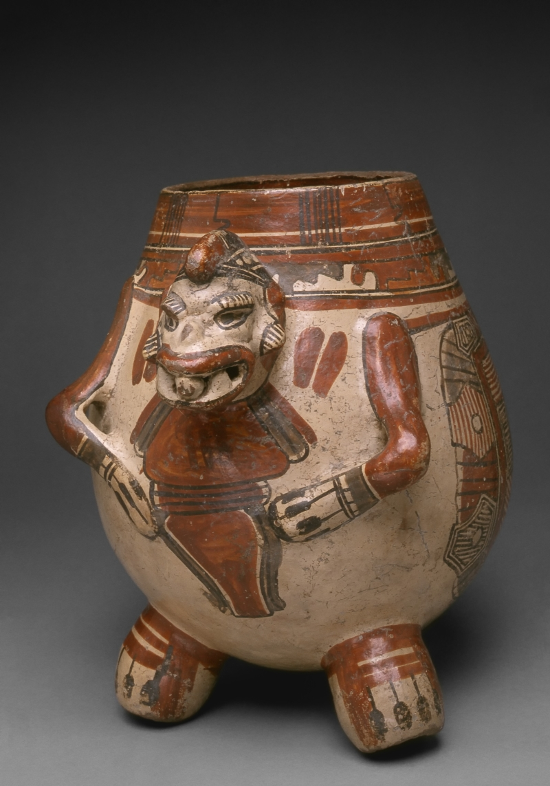 Animal-form Tripod Jar