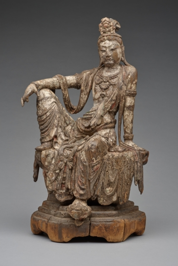 Bodhisattva of Compassion (Guanyin) Seated in Royal Ease