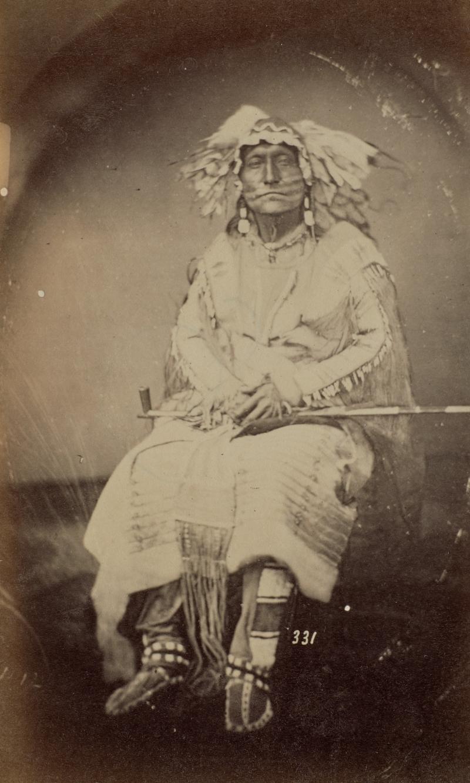 He-Kha-Ka He-Wan-Shi or He-Ha-Ka-He-Wan-Zhi (Horned Elk), Oglala Lakota
