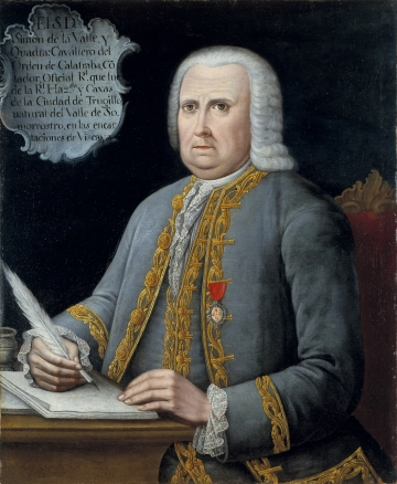 Portrait of Simon de la Valle