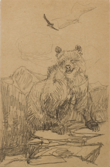 Untitled (Grizzly Bear)