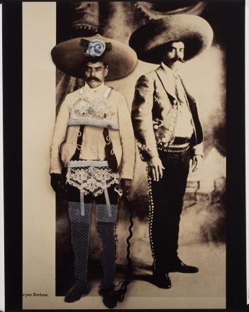 Zapata y Su Lado Feminina from the series Machos Sensitivos