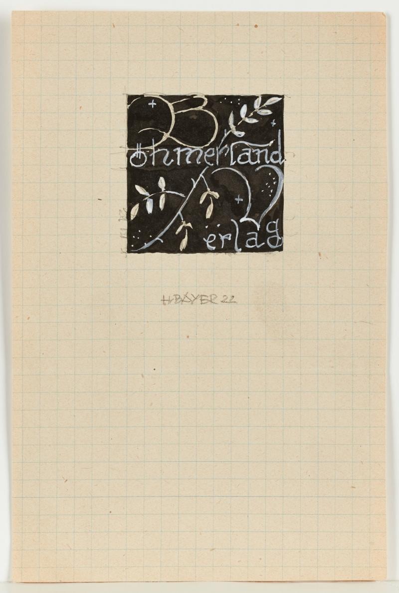 Böhmerland Verlag (original graphic design)
