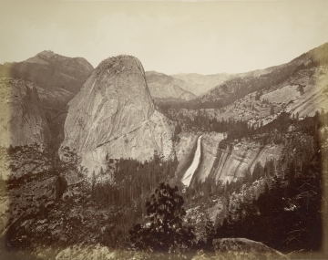 Bridal Veil Fall, Clouds Rest, Valley of Yosemite