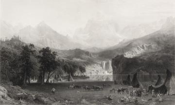 The Rocky Mountains, Landers Peak