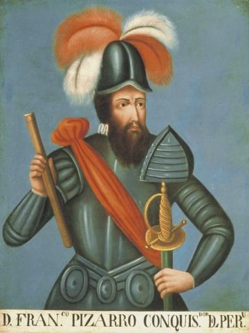 D. Francisco Pizarro Conquistador del Peru