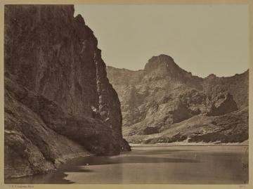 Black Cañon, Colorado River, Looking Below near Camp 7