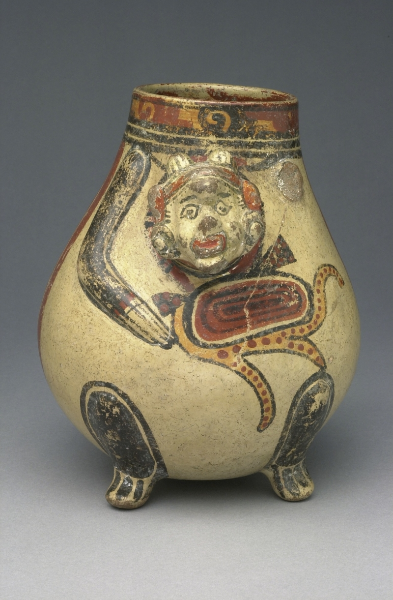 Man/Monkey-form tripod Jar